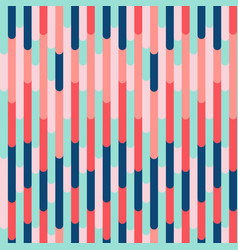 vibrant seamless pattern trendy color combination vector image