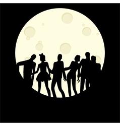 Zombie Halloween Party vector