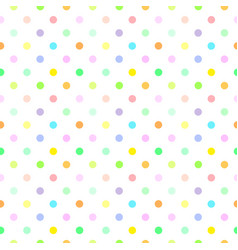 abstract seamless pattern with dots vector image vector image