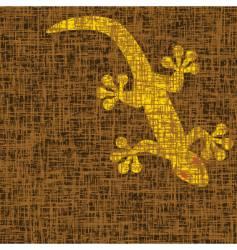 gecko vector image vector image