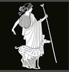 Greek drawing vector