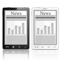 News in Mobile Phone vector image vector image