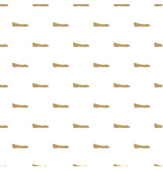 ballet shoe pattern seamless vector image