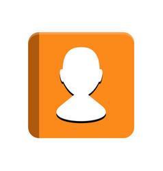 cellphone app button vector image
