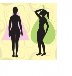 pear spoon body vector image