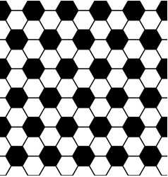 seamless soccer pattern vector image
