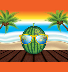 summer vector image