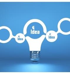 TEAM Idea concept 3d vector image