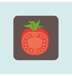 vegetable icon design vector image