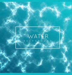 water surface sea river or ocean vector image