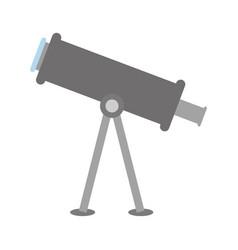 telescope tool icon vector image