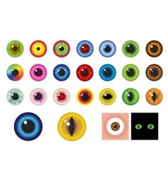 Eyes design elements vector