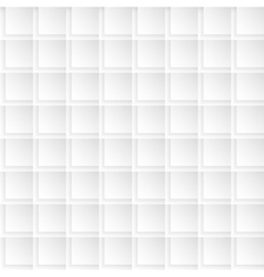 Abstract white gray seamless pattern vector image