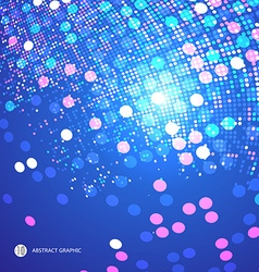 Consisting of colorful little abstract background vector