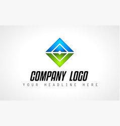 creative logo letter design for brand identity vector image vector image