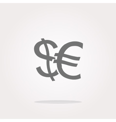 money Icon money Icon money Icon Art vector image