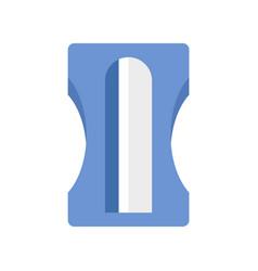 School sharpener icon flat style vector