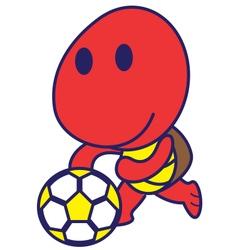 Sport Turtle vector image