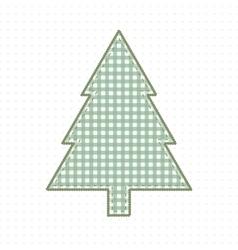 Spruce fabric handmade cute baby style vector