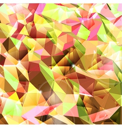 Abstract background Combination of triangle vector image