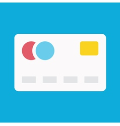Debit Card Icon vector image vector image