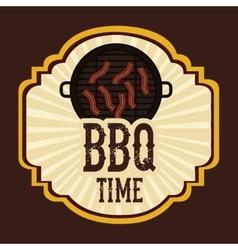 Delicious barbecue design vector