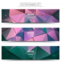 3d technology background vector image