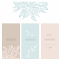 a set of for the design of vector image