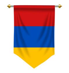 Armenia pennant vector