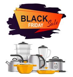 Black friday sale advert vector