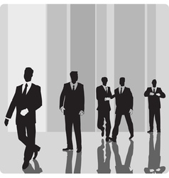 Businessmen vip-persons vector
