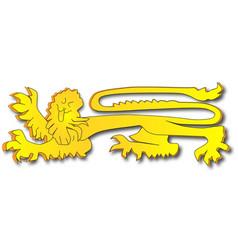 English lion vector
