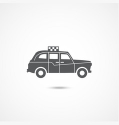 london taxi icon vector image