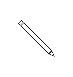 pen icon graphic design template vector image