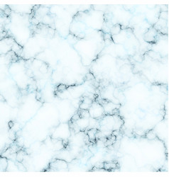White and blue marble texture background vector