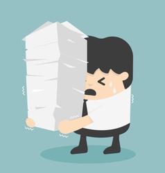 Work load concept vector