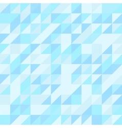 Blue triangle seamless pattern Geometric vector image