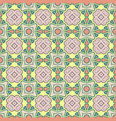 Abstract seamless color pattern for vector