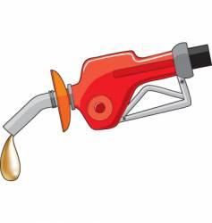 gas fuel pump vector image