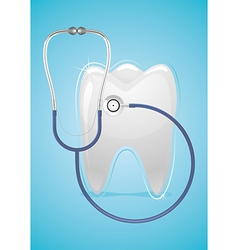 Health of teeth vector image