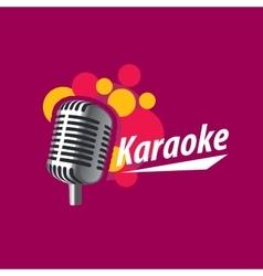 Logo karaoke vector
