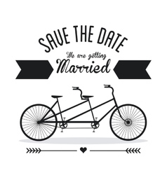 Married design Wedding icon Flat vector image
