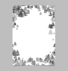 modern christmas design page template - blank vector image