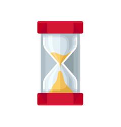 modern sand hourglass sandglass device for vector image