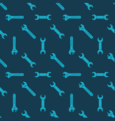 Wrench seamless pattern vector