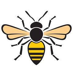 Bee icon vector image vector image