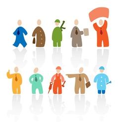 Toon people vector image vector image