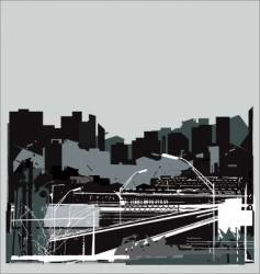 urban jungle vector image vector image