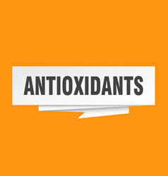 Antioxidants vector
