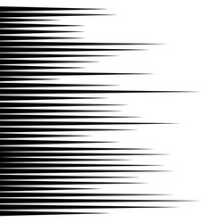 black horizontal lines comic book speed vector image